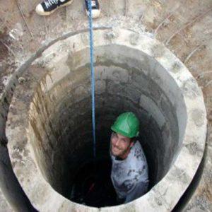 ترمیم چاه در غرب تهران